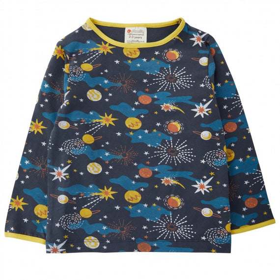 Piccalilly | Solar Space Long Sleeve Tee