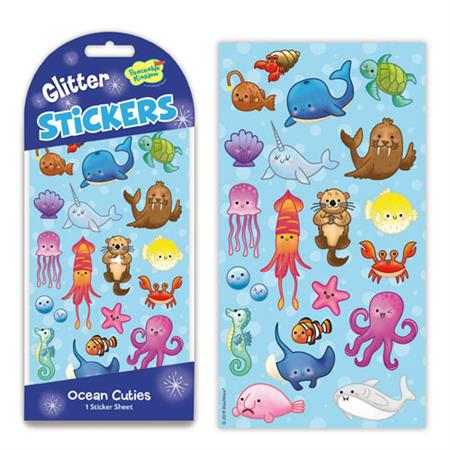 Glitter & Foil - Underwater Fun Stickers