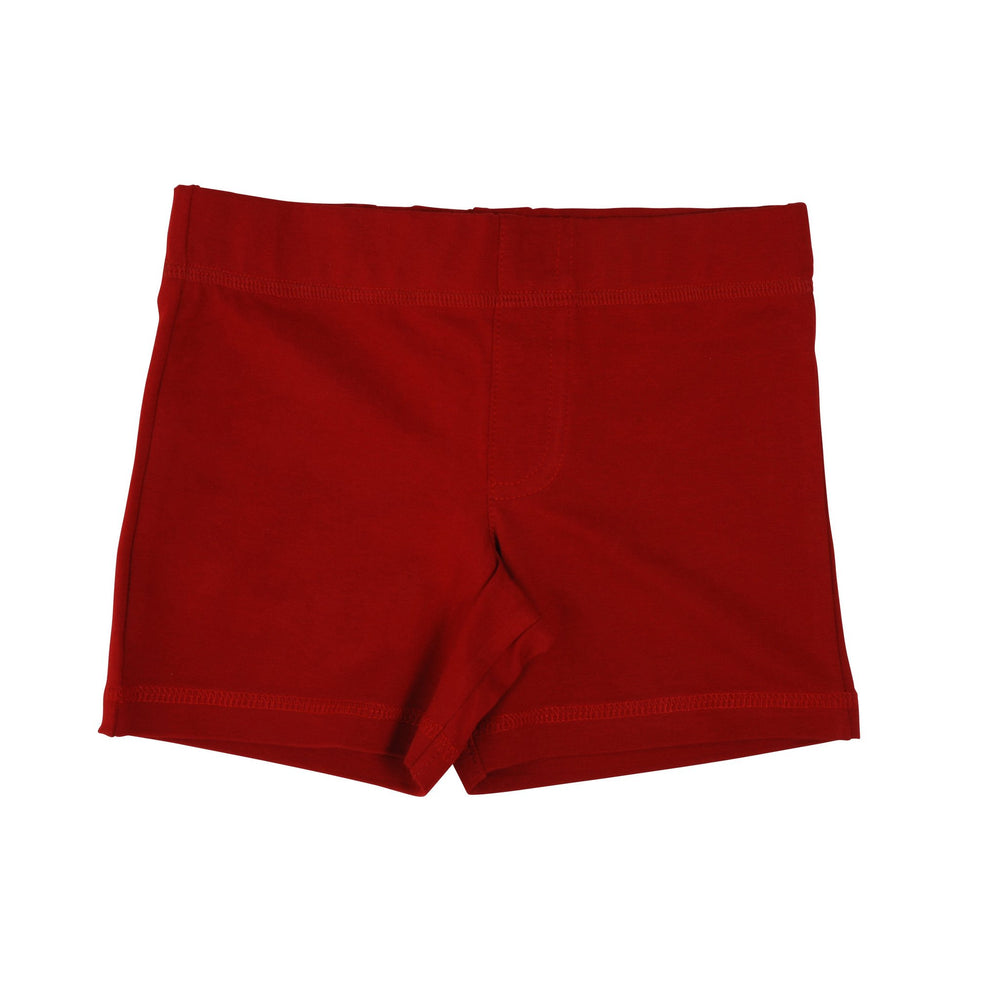 More Than A Fling | Pompeian Red Shorts