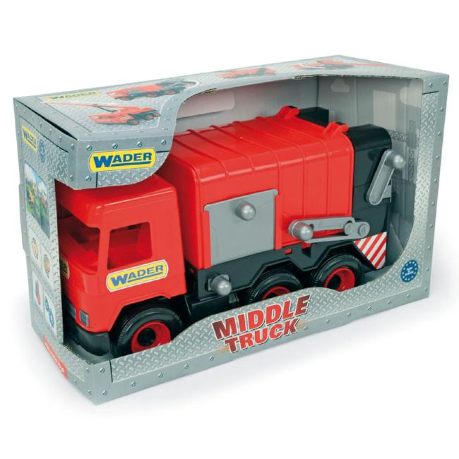 d46ff6753d5 Wader Middle Sized Trucks - Educational Toys