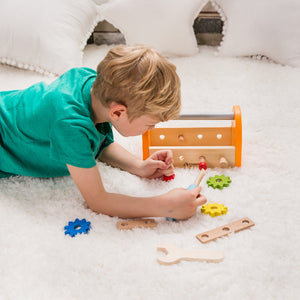 Carpenters Set, Pretend Play, Carpenters, Wooden Toys, Nuts & Bolts,