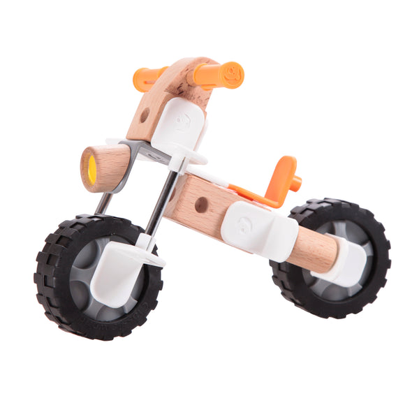 Wooden Toys, Wooden, Motorcycle, Toys, Classic World, Wooden Construction, Construction, Motorcycle,