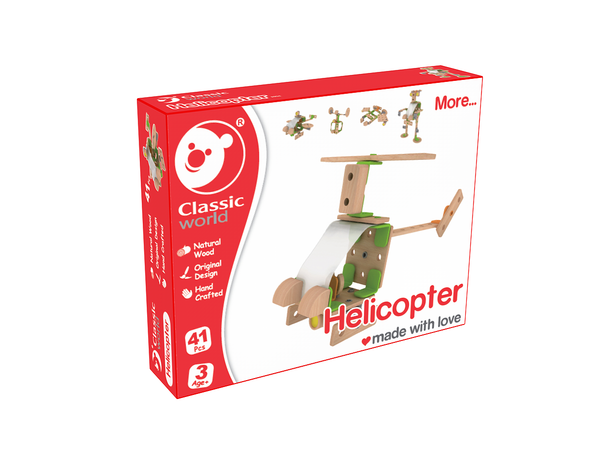 Classic Builder Helicopter