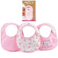 Newborn Dolls Bottles / Bibs