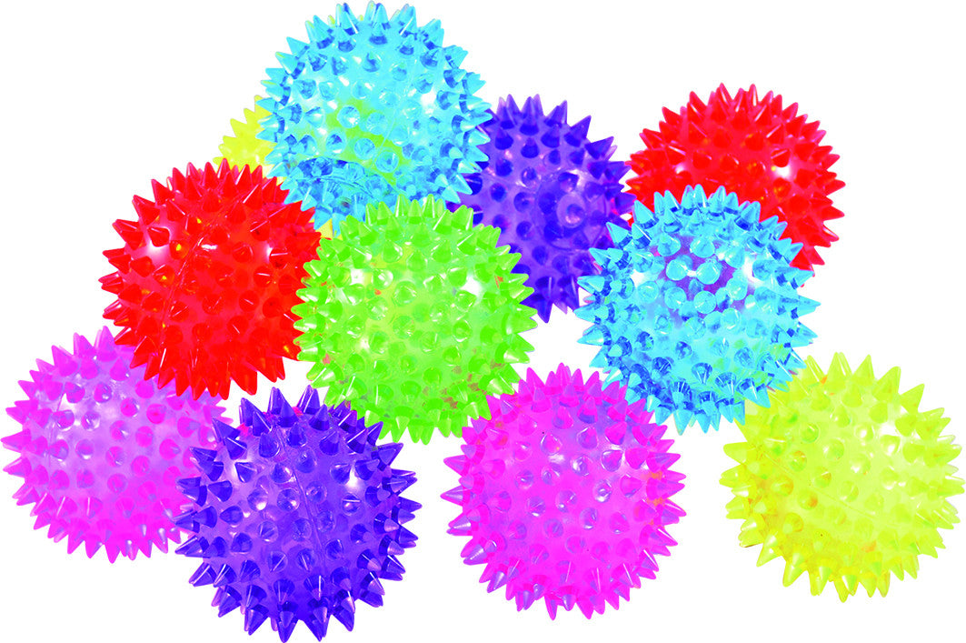 Hedgehog Ball with light (pk of 10)