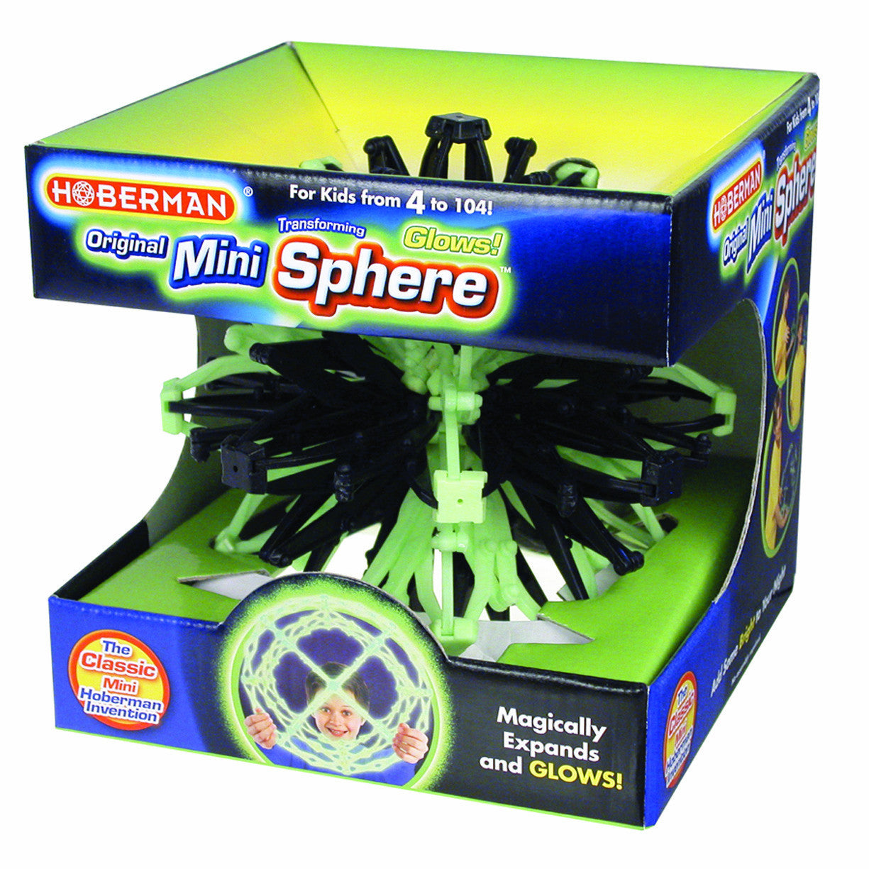 Hoberman Mini Sphere - Firefly Glow