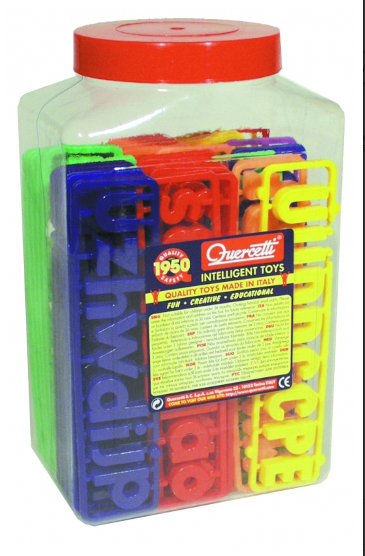 Mixed pack Upper + Lower Magnetic Letters