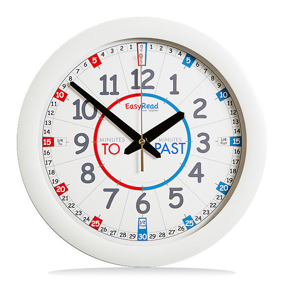 EasyRead Time Teacher Mini Classroom Wall Clock