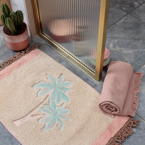 Mini Palm Beach Shower Mat