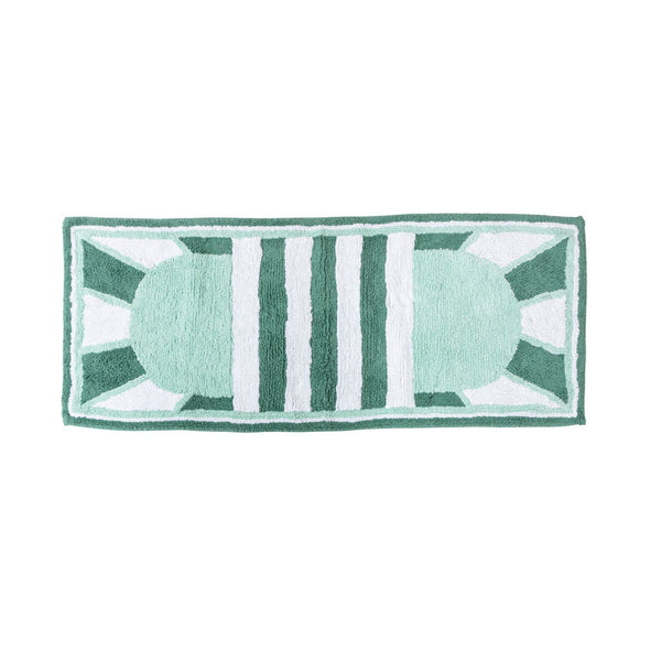 BEVERLY HILLS BATH RUNNER - MINT - Peachy Parrot