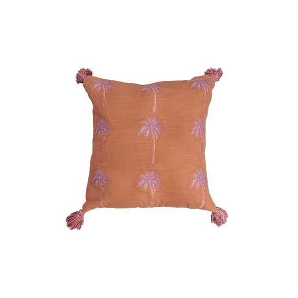 Desert Palm Cushion - Peachy Parrot