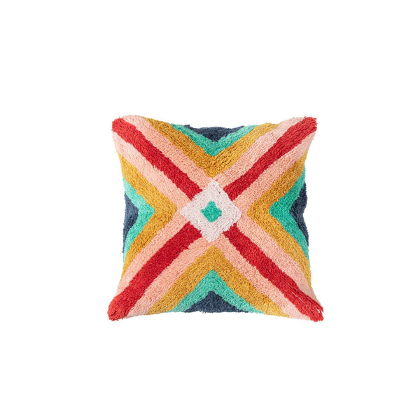 HIPPY SHAG CUSHION - Peachy Parrot