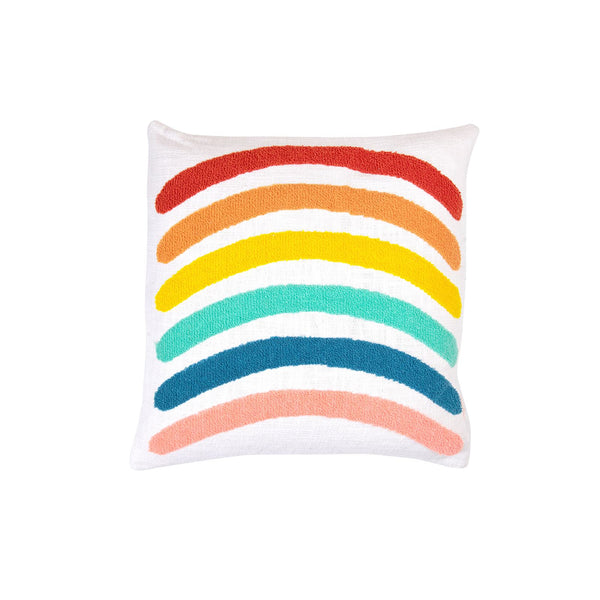 Indio Rainbow Cushion - Peachy Parrot