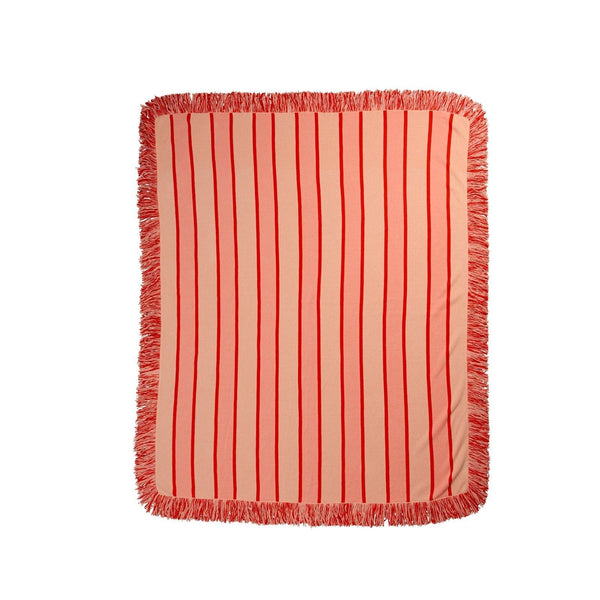 Luxury Red Reef Throw - Peachy Parrot