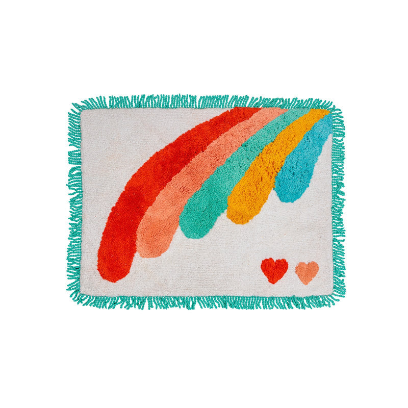 Miami Rainbow Bath Mat - Peachy Parrot
