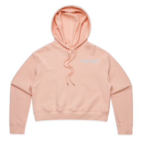 (Pre-Order) 2020 POW! WOW! Hawaii Dusty Pink Women's Crop Hoodie