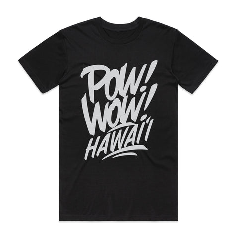(Pre-Order) 2020 POW! WOW! Hawaii Black Men's Tee