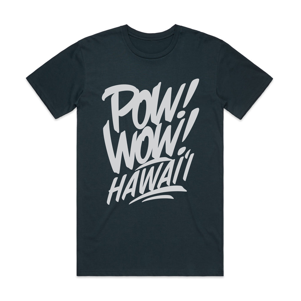 2020 POW! WOW! Hawaii Indigo Men's Tee