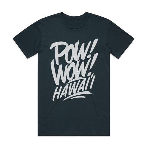 (Pre-Order) 2020 POW! WOW! Hawaii Indigo Men's Tee