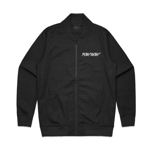 2020 POW! WOW! Hawaii Black Men's Bomber Jacket