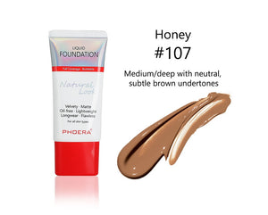 Phoera Velvety Matte Liquid Foundation