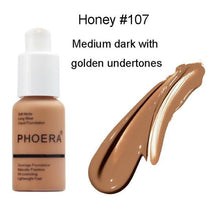 Load image into Gallery viewer, Phoera Flawless Matte Liquid Foundation