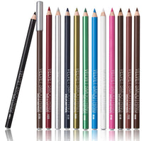 Load image into Gallery viewer, Glamza 12pc Velvet Smoothing Lip and Eyeliner Pencils