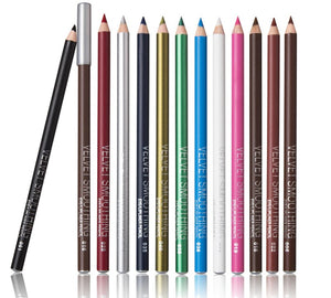 Glamza 12pc Smoothing Lip and Eyeliner Pencils