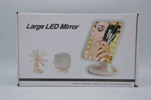 22 LED Magnifying Touch Screen Vanity Mirror