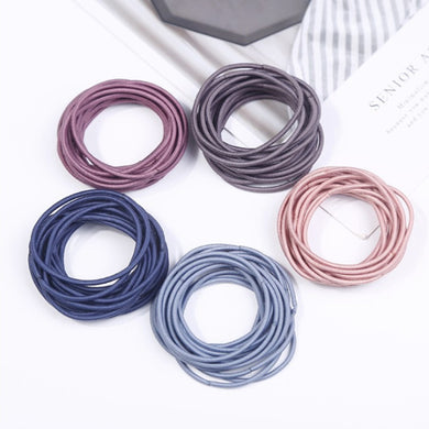 Glamza Multi Colour Hair Bands 5 colours (20 of each)