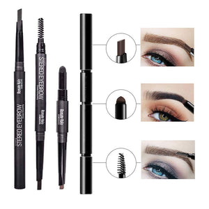 3 in 1 Smooth Stereo Eyebrow Pen