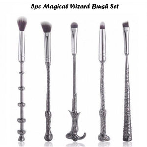 5pc Magical Wizard Inspired Brush Sets - 2 Types
