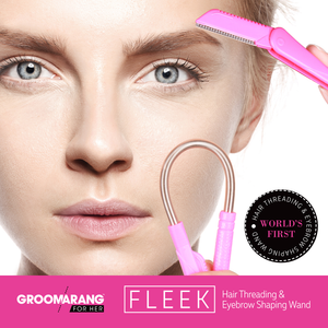 Groomarang For Her 'Fleek' World's First Hair Threading & Eyebrow Shaping Wand