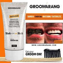 Load image into Gallery viewer, Groomarang Activated Bamboo Charcoal Whitening Toothpaste - Mint - 50g