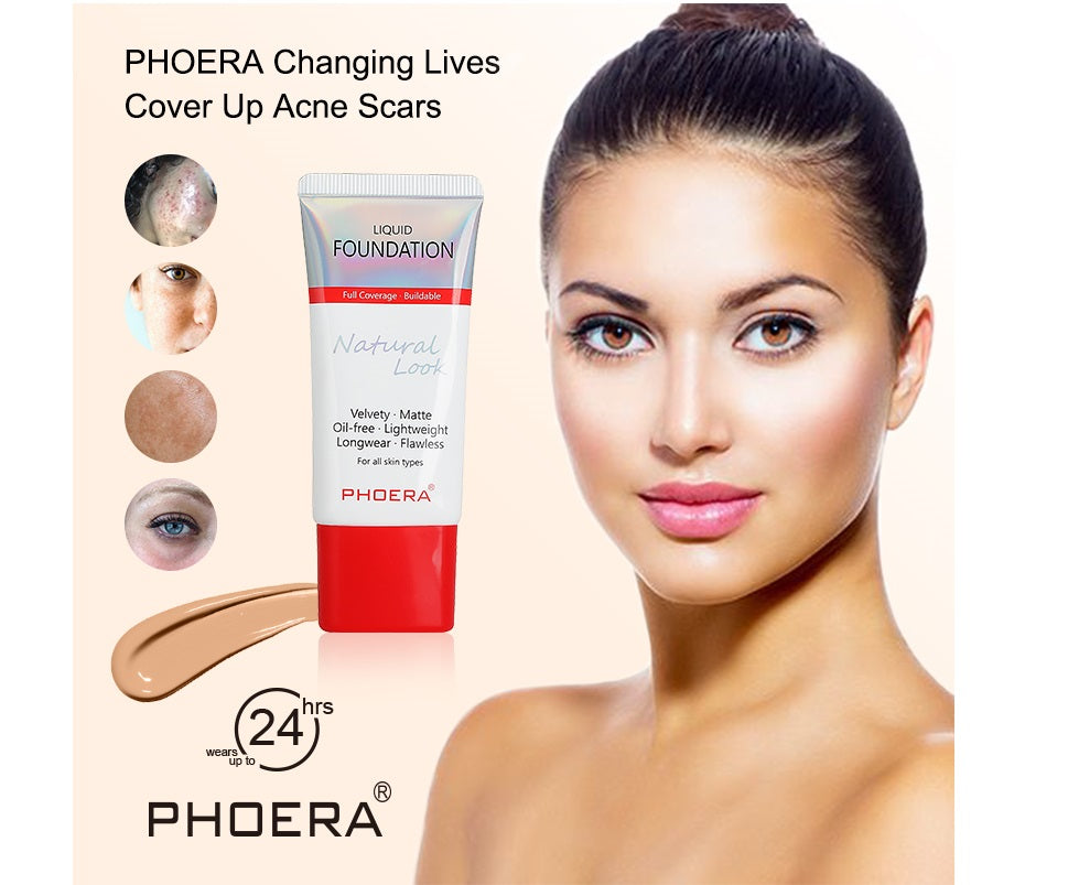 Phoera Velvety Matte Liquid Foundation, Face Makeup by Forever Cosmetics