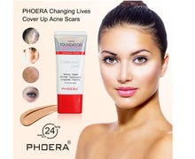 Load image into Gallery viewer, Phoera Velvety Matte Liquid Foundation