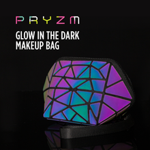 Load image into Gallery viewer, Pryzm 'Holographic & Reflective' Makeup Bag And Pencil Case - 3 Sizes