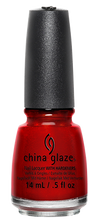 Load image into Gallery viewer, China Glaze Go Crazy Red Nail Polish