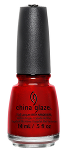 China Glaze Go Crazy Red Nail Polish