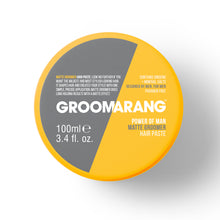 Load image into Gallery viewer, Groomarang Power of Man 'Matte Groomer' Hair Paste 100ml
