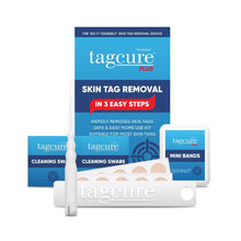 Load image into Gallery viewer, Tagcure Skin Tag Removal Device PLUS 2.0 & Tagcure Top Up Pack PLUS 2.0 Complete Kit