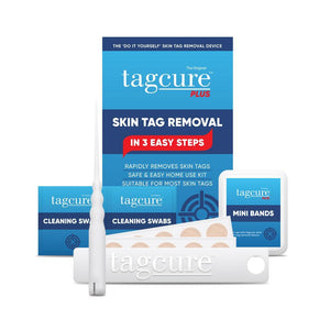 Tagcure Skin Tag Removal Device PLUS 2.0 & Tagcure Top Up Pack PLUS 2.0 Complete Kit