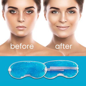 Glamza Heating or Cooling Gel Bead Eye Mask