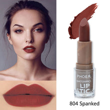 Load image into Gallery viewer, PHOERA Velvety Matte Waterproof Lipstick