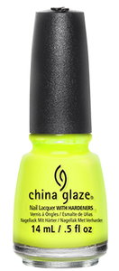 China Glaze Yellow Polka Dot Bikini Nail Polish