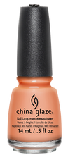 Load image into Gallery viewer, China Glaze Sun Of A Peach Nail Polish