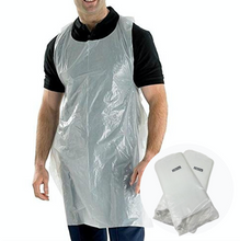 Load image into Gallery viewer, Disposable Aprons x100 GENERISE Disposable Plastic Aprons