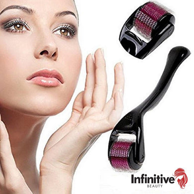 Infinitive Beauty 540 Titanium Alloy Premium Derma Roller With Dermier Collagen Serum Option