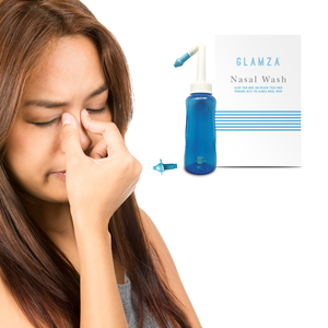 Glamza Nasal Wash 300ml - Irrigation and Hay Fever Tool