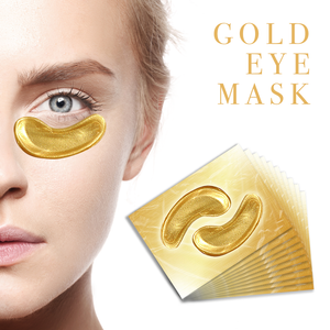 Crystal Collagen Gold Face Mask and Eye Mask Bundle- 10 of each